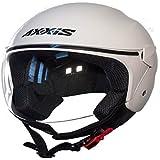 Casco Axxis SPORT CITY Solid (XL, BLANCO)