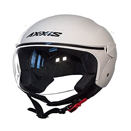 Casco Axxis SPORT CITY Solid (M, BLANCO)