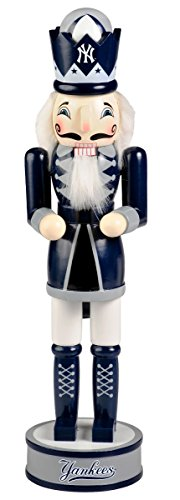 New York Yankees Official MLB 14 inch 14 Christmas Holiday Nutcracker - Chicago Cubs Nutcracker