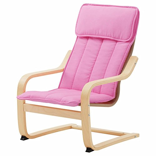 POANG Children39;s armchair, birch veneer, Almas pink by IKEA ASIA
