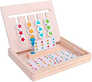 Children's Early Education Educational Toys Four-color Game Logic Thinking Training Enlightenment Teaching Aid Intellectual Development Multifunctional