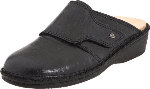 Finn Classic Clogs (Finn Comfort Women's Aussee,Midnight Wildnap Leather Classic,37 (6-6.5 M(B) US)