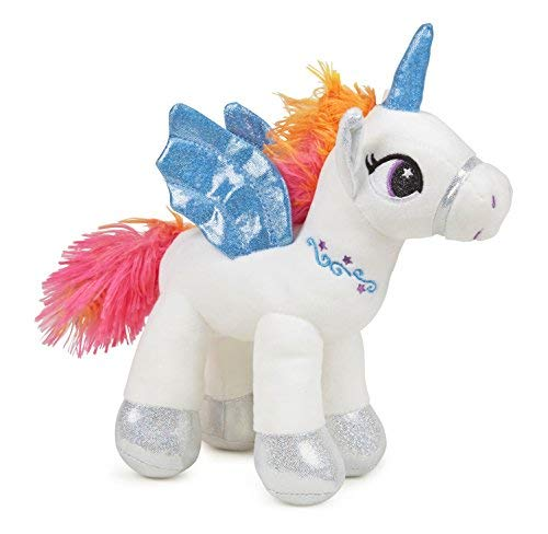 Mesmerizing White Rainbow Pegasus Unicorn 8