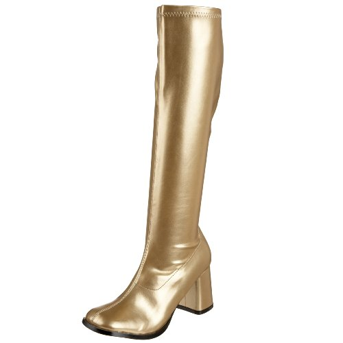 Pleaser Gogo300/yl, Damen Stiefel Goldfarben