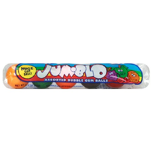 (Rain-blo Jum-blo  Assorted Gum Balls, 2.5-Ounce Packages (Pack of 24))
