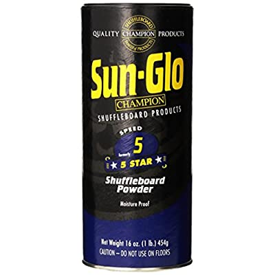 Sun-Glo 5 Shuffleboard Powder Wax (16 oz.) : Sports & Outdoors