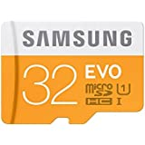 Samsung EVO Grade 3, Class 10 32GB MicroSDHC 95MB/S Memory Card with SD Adapter (MB-MP32GA/IN)