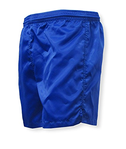 Olympic nylon satin soccer shorts - size Adult S - color Royal