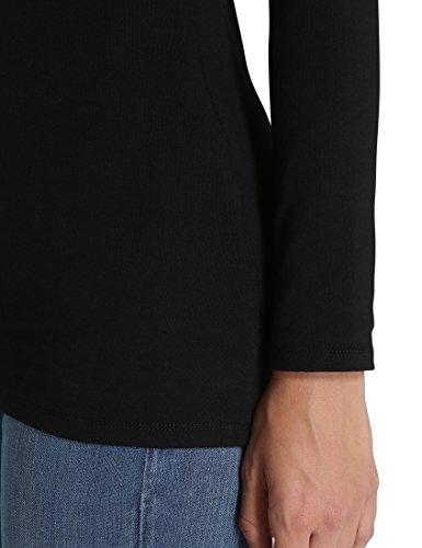 fit T Femme Manches Noir Berydale Longues pour Shirt Slim Xv0A0wZdq