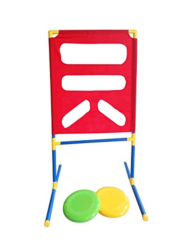 Heemika Flying Disc,Disc Toss Target Game For Backyard,Lawn,Beach and more Outdoor Events, Frisbee Game Set For Kids Family ()