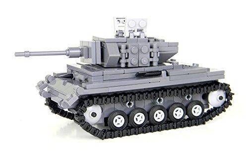 German WW2 Panzer Tank - Battle Brick Custom Set by Made with real LEGO(R) bricks