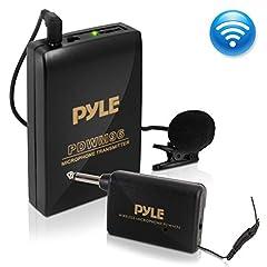 PylePro Model : PDWM96 Wireless Lavalier Microphone System Wireless Microphone System with Beltpack & Lavalier Mic Features: Bodypack Transmitter w/Clip-on Lavalier Microphone Receiver w/ 1/4'' Plug Volume Control Super Compact Design Bat...