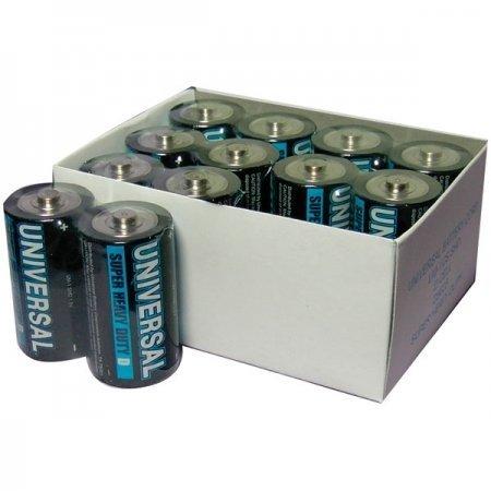 Universal Battery Super Heavy-Duty Battery Value Box - C (24 Pack) (UBCD5624) (Battery Heavy Value Duty Box)