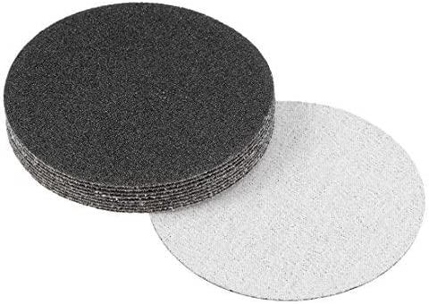 3-inch wet and dry sanding discs 80 Grain Hook and loop Sandpaper Electrostatic sand seeding Silicon carbide 10 pieces