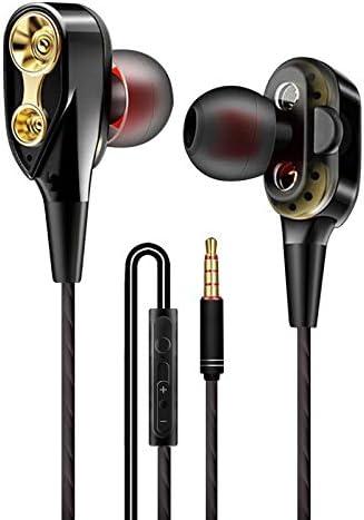 Amazon.com: Double Loop Running Game with Ears, Music Headphones, Wire Control, HiFi Headphones. (Black): Electronics