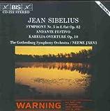 Sibelius: Symphony Nr. 5 / Andante Festivo / Karelia Overture, Op.10