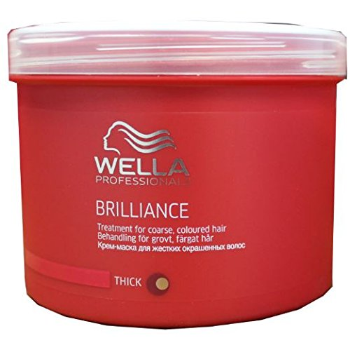 Wella Brilliance Treatment Mask 500ml (Brilliance Treatment Mask)