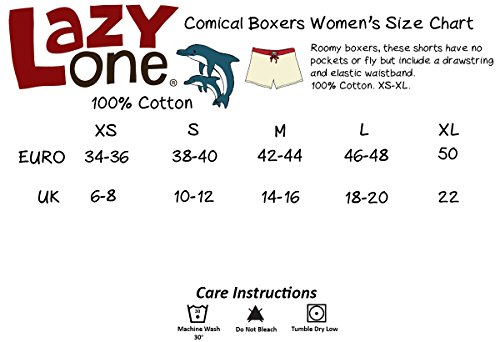 LazyOne Chocolate Moose Femmes Boxer Shorts