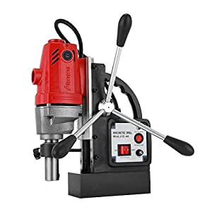 """VEVOR MD40 Magnetic Drill Press 1-1 2"""" Boring and 2700 Lbs Magnet Magnetic Drilling System"""