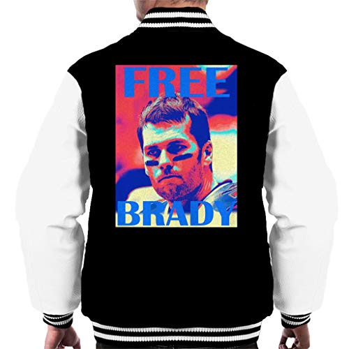 white Brady Jacket Men's Black Varsity Tom Free qRn8Yw4xHx