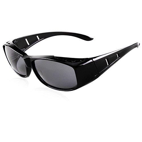 9ab861a967 Gafas de sol de la manera para las mujeres de los hombres desgaste  polarizado de la lente sobre ...