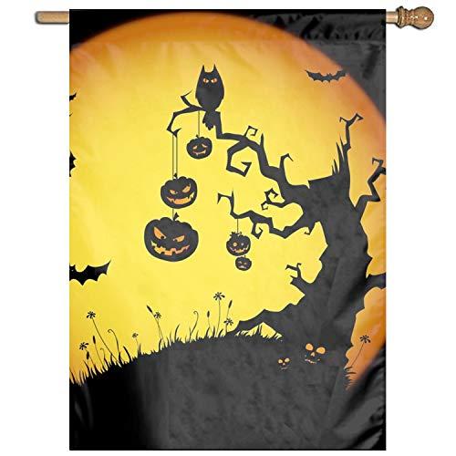 XIAOTT Premium Garden Flag, Halloween Pumpkin Summer Decorative Garden Flags Weather -