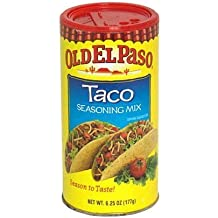 Old El Paso Seasoning, Taco, 6.25-ounce