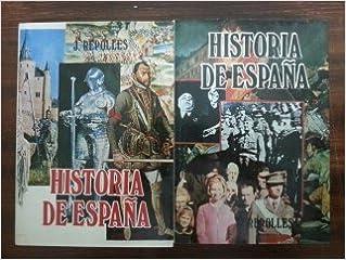 HISTORIA DE ESPAÑA. 2 TOMOS: Amazon.es: Jose Repolles Aguilar: Libros