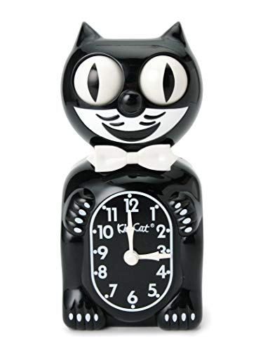 (B PR 빔스)bpr BEAMS/탁상시계 California Clock/Kit-Cat Klock BLACK ONE SIZE