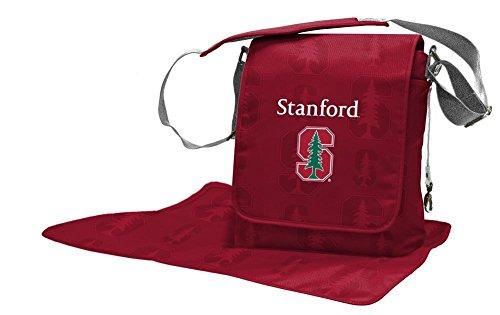 Lil Fan NCAA Stanford Cardinals Diaper Messenger Bag, Team Color, 13.25