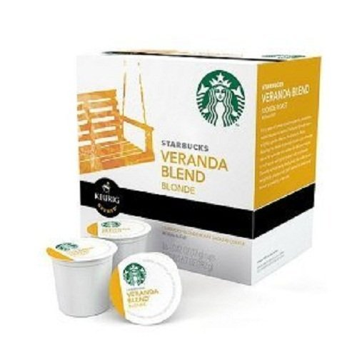 STARBUCKS - Starbucks Veranda Blend Blonde Roast Keurig K-Cups (Case of 1 Dozen 16 K-Cup Boxes – Total of 192 Cups) by Starbucks