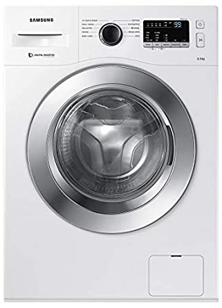 Samsung 6 5 Kg Fully Automatic Front Loading Washing Machine Ww65m206l0w Tl White Amazon In Home Kitchen