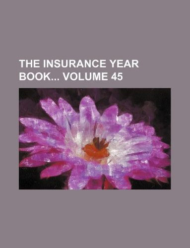 Download The Insurance year book Volume 45 Pdf