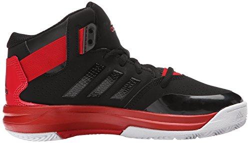 adidas Outrival 2K Zapatilla De Baloncesto (poco Kid/Big Kid) Black/Scarlet Red/White