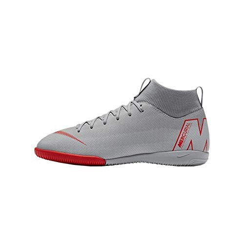 Multicolor Superfly 060 Sala Fútbol Zapatillas wolf Crimson 6 Academy Niños Nike Unisex De Platinum Jr Grey Lt Ic Pure Gs 7nRwg1gq