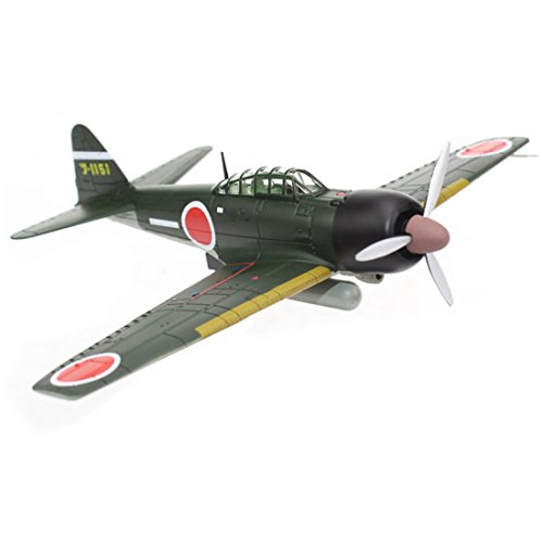 - Panzerkampf 1:72 Scale Die cast Metal and Plastic Plane Models Military Mitsubishi A6M3 Zero Fighter Aircraft Model(14603)