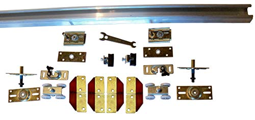 (Series 1 HBP Heavy Duty Bifold Track and Hardware Kit (72