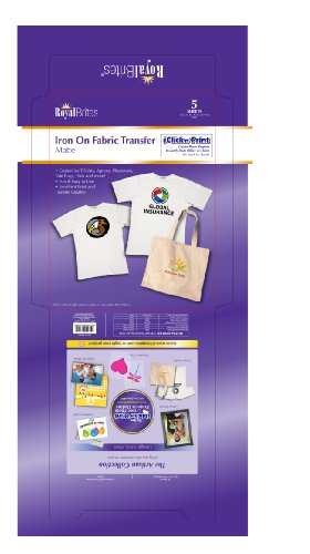 Royal T-Shirt Transfers. Pack of 5 (28940)