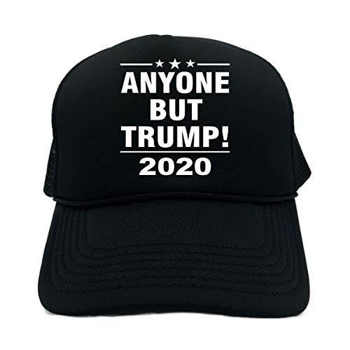 (Signature Depot Funny Trucker Hat (Anyone BUT Trump! 2020 (PRES Election) Unisex Adult Foam Cap )
