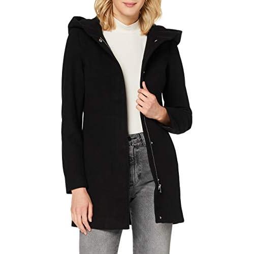 chollos oferta descuentos barato Vero Moda VMDAFNEDORA 3 4 Jacket Noos Chaqueta Negro M para Mujer