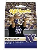 OYO NCAA Washington Huskies Ultimate Fan Minifigure, Small, Black