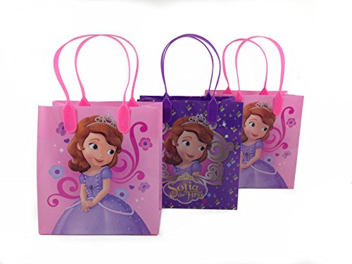 12pc Disney Sofia the First Goodie Bags Party Favor Bags Gif