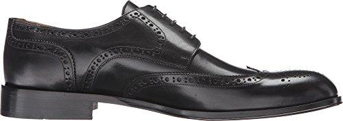 Kenneth Cole New York Hombres Reglas De Tierra Wingtip Oxford Zapatos Black