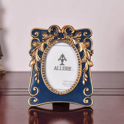 Frame - European Pattern Creative Environmental Protection Resin 6 Inch 7 Photo Frame Set Table Classical - Metal Electronic Point Gun Silicone A3 Embroidery Hanger Ring Corner