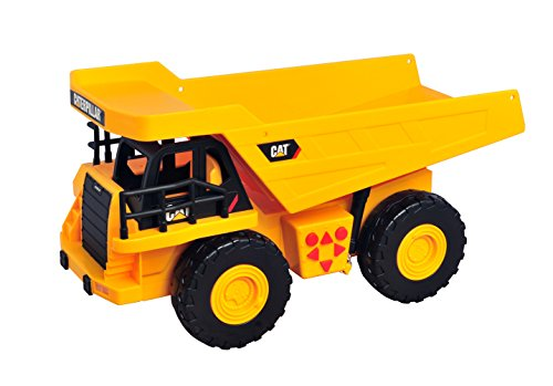 Cat Construction Toys : Toy state caterpillar construction job site machines dump
