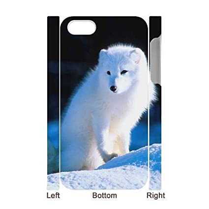 Amazon.com: 3D Bumper Plastic Case Of Fox customized case ...