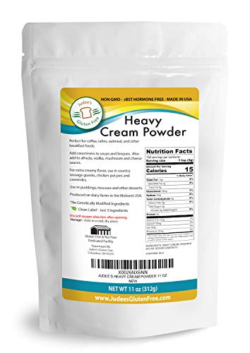 Heavy Cream Powder(11 oz): GMO and Preservative Free: Produced in the USA: Keto Friendly, Add Healthy Fat to Coffee