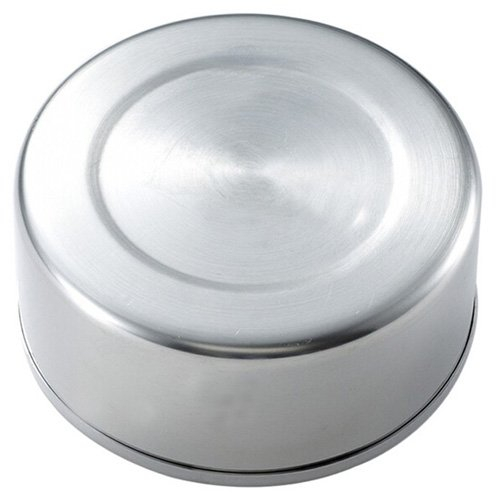 LightInTheBox 12cm Stainless Steel Windproof Ashtrays Flip-top Table-Top Smokeless Ashtray with Lid