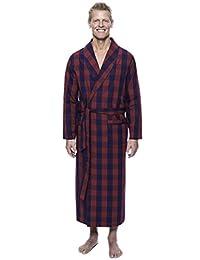 Twin Boat Men's 100% Woven Cotton Robe