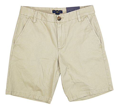 Club Room Everyday Value Chino Cotton Shorts (Creek Bed, 29) - Everyday Chino